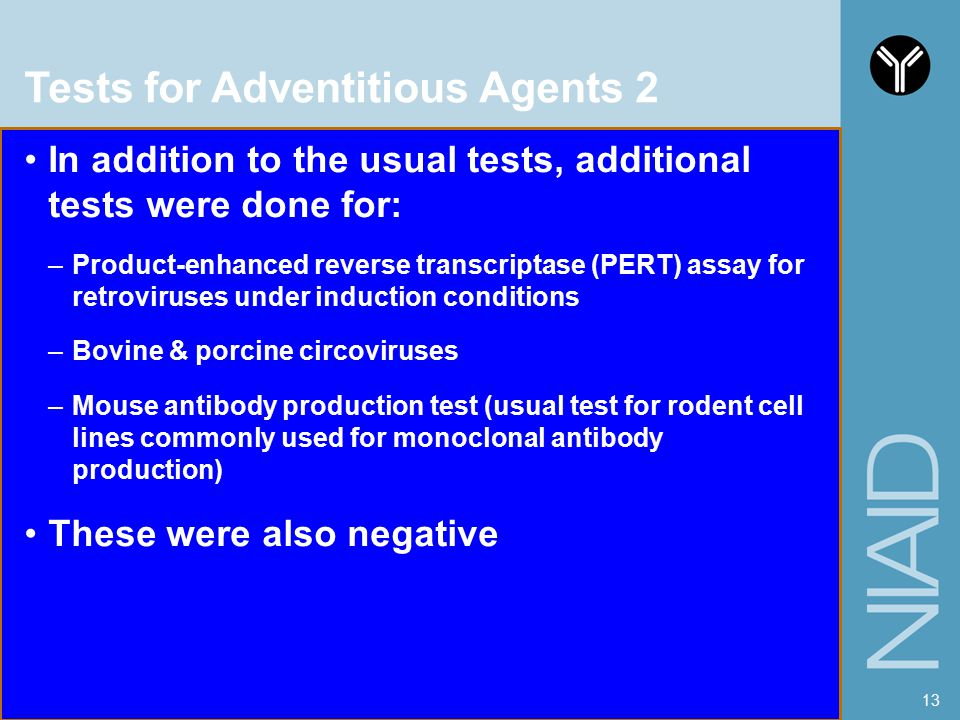 Tests for Adventitious Agents 2
