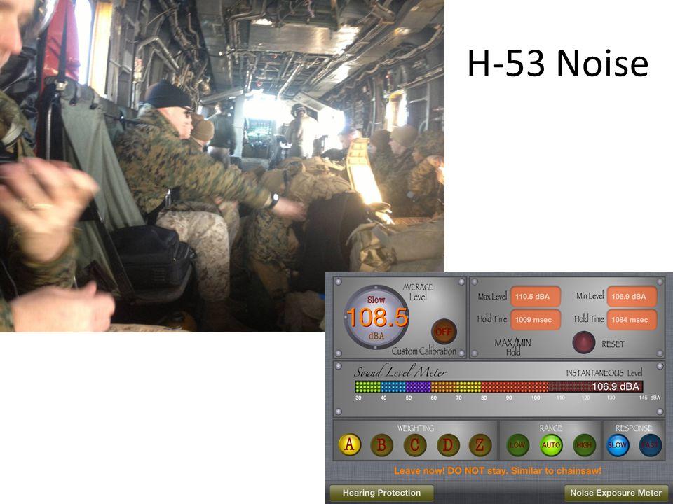 H-53 Noise