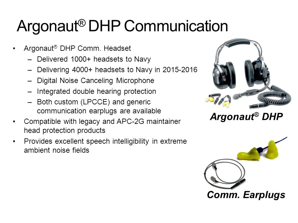 Argonaut® DHP Communication