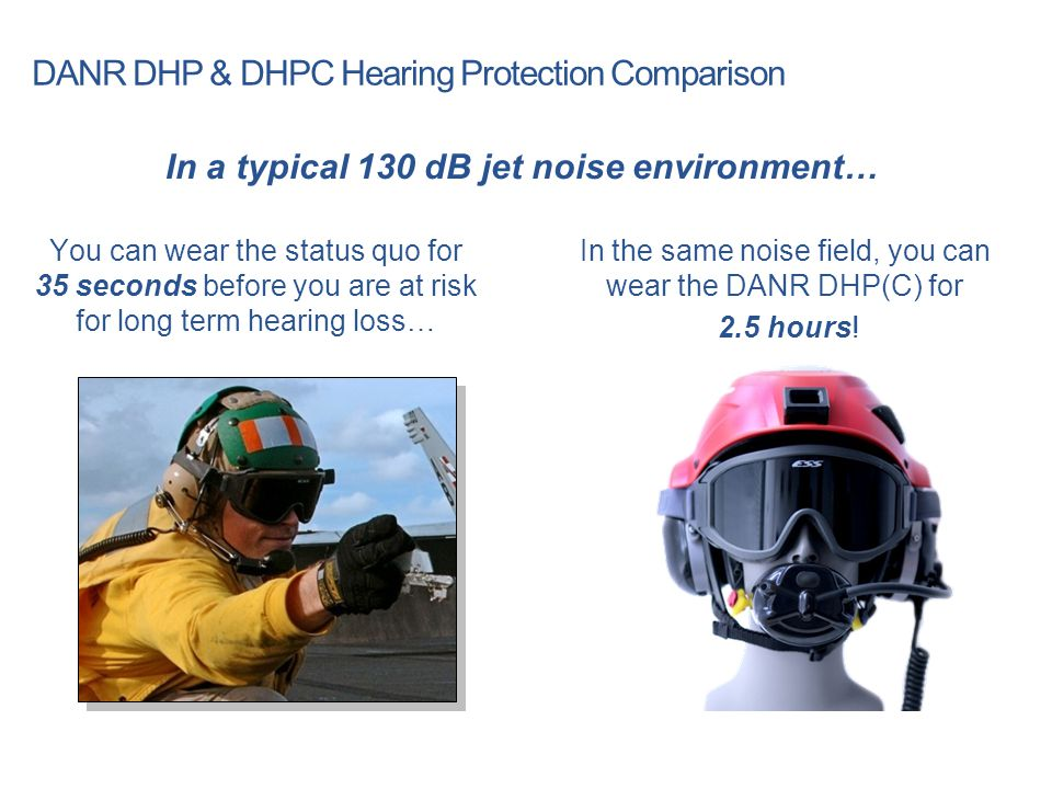 DANR DHP & DHPC Hearing Protection Comparison