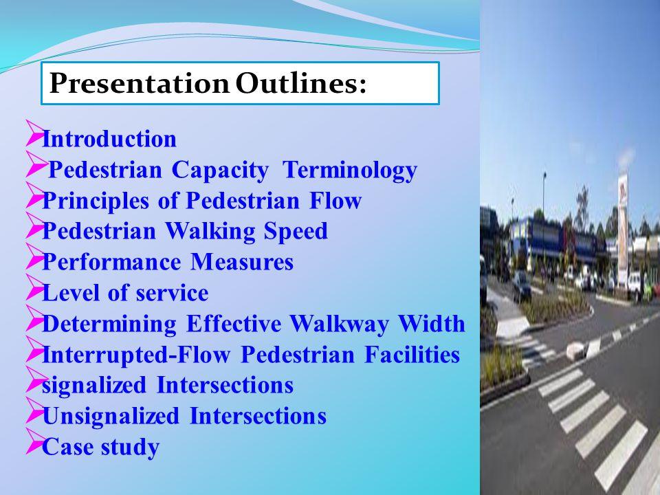 Presentation Outlines: