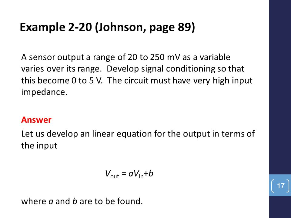 Example 2-20 (Johnson, page 89)