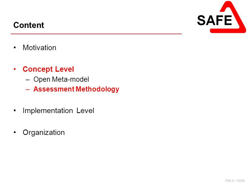 Content Motivation Concept Level Implementation Level Organization