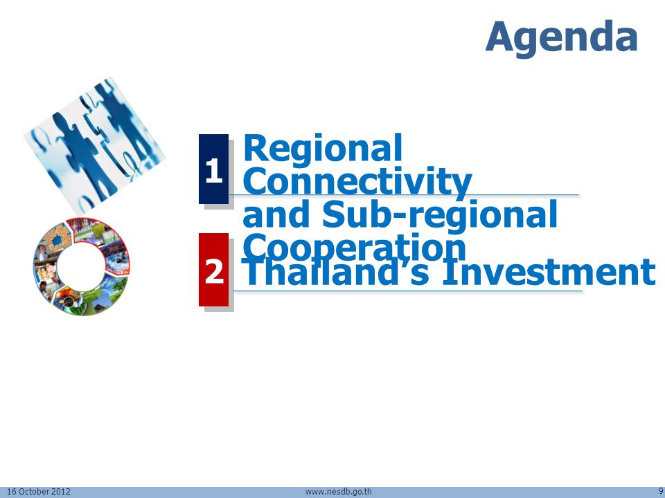 Agenda Regional Connectivity and Sub-regional Cooperation