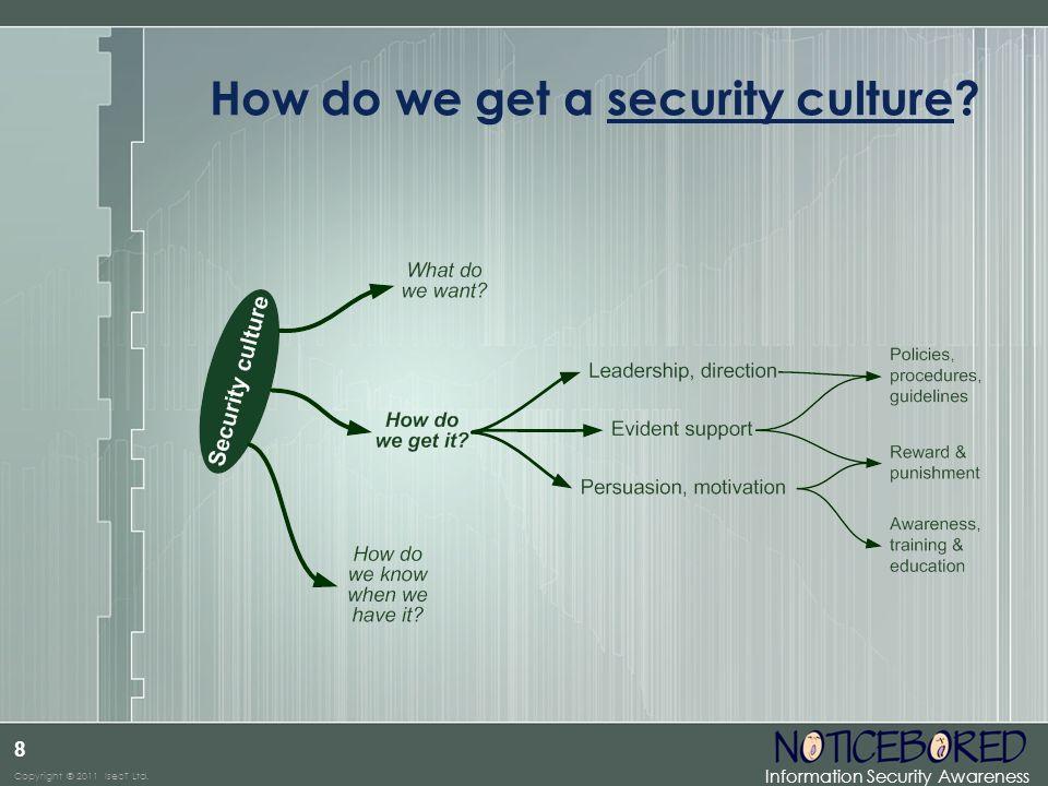 How do we get a security culture