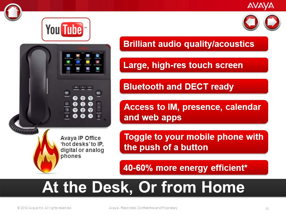 At the Desk, Or from Home Brilliant audio quality/acoustics
