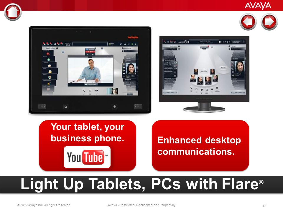 Your tablet, your business phone.