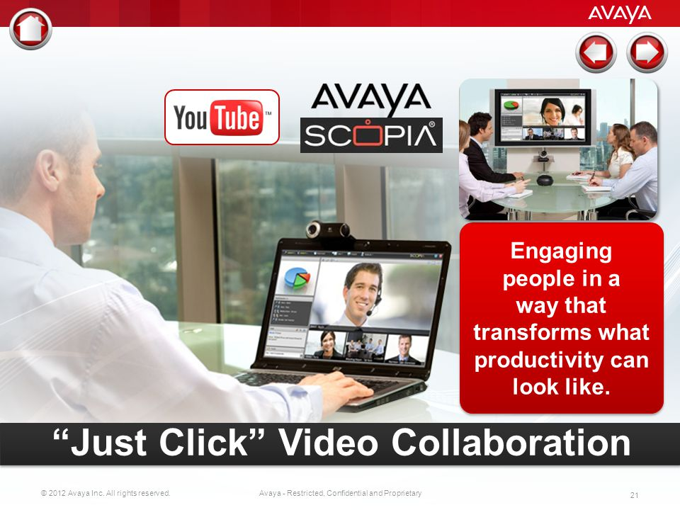Just Click Video Collaboration
