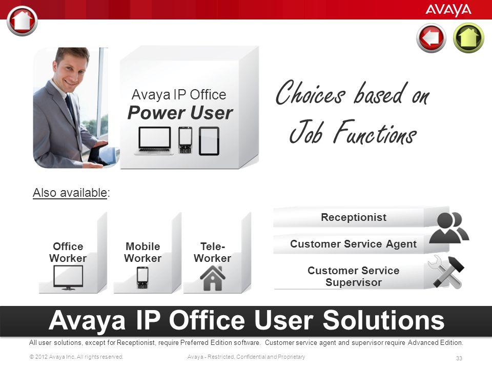 Customer Service Agent Customer Service Supervisor