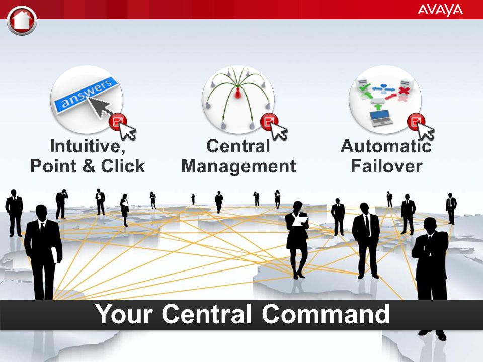Your Central Command Intuitive, Point & Click Central Management