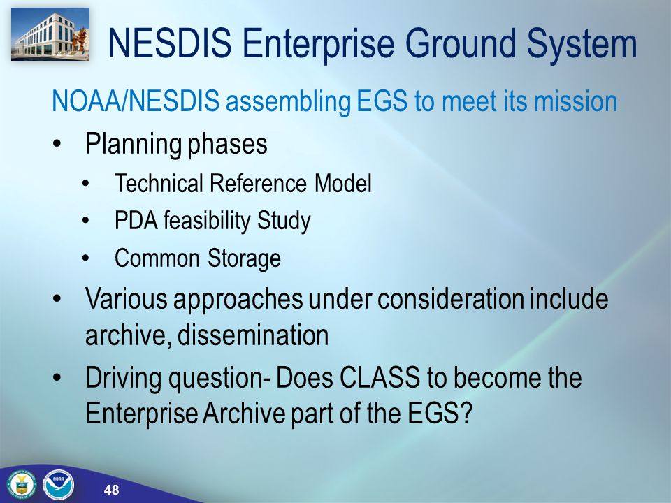 NESDIS Enterprise Ground System