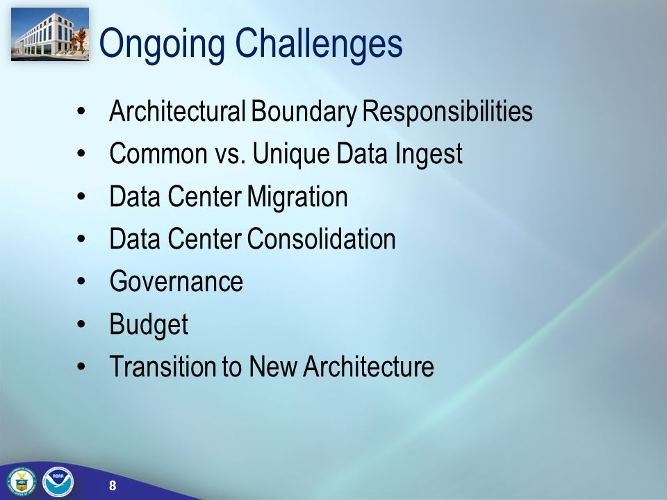Ongoing Challenges Architectural Boundary Responsibilities