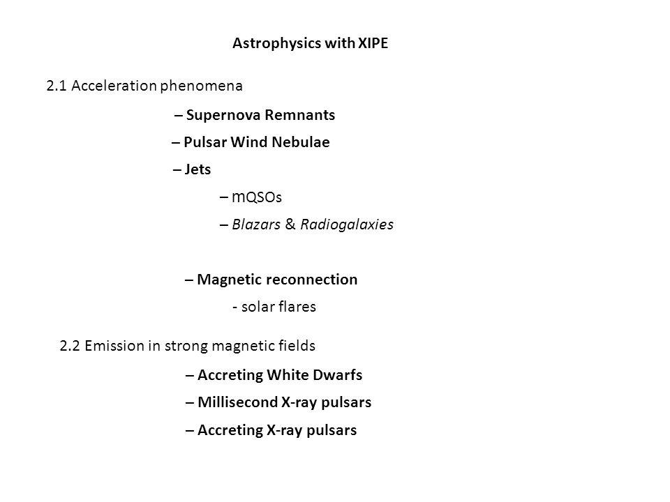 Astrophysics with XIPE