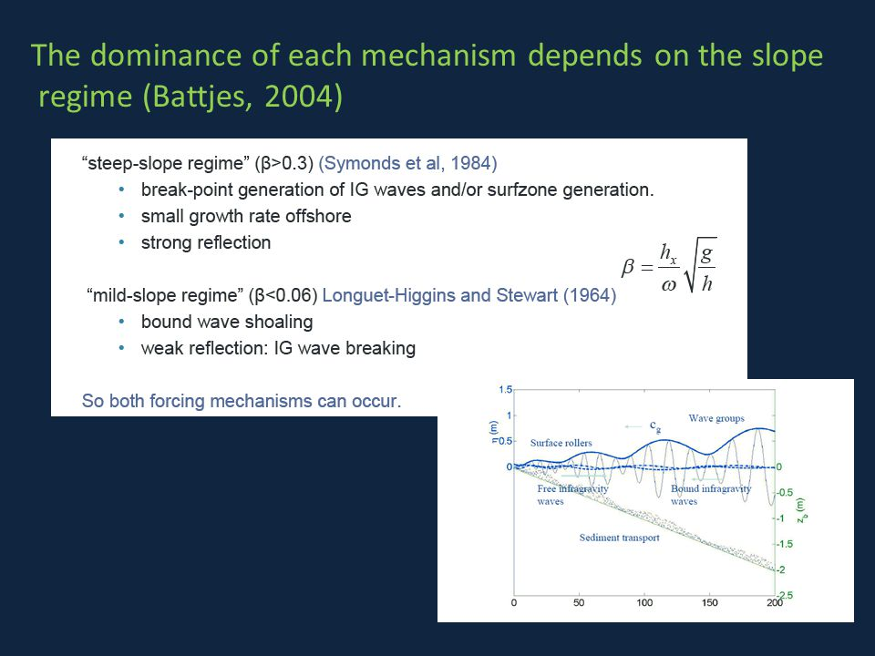 The dominance of each mechanism depends on the slope