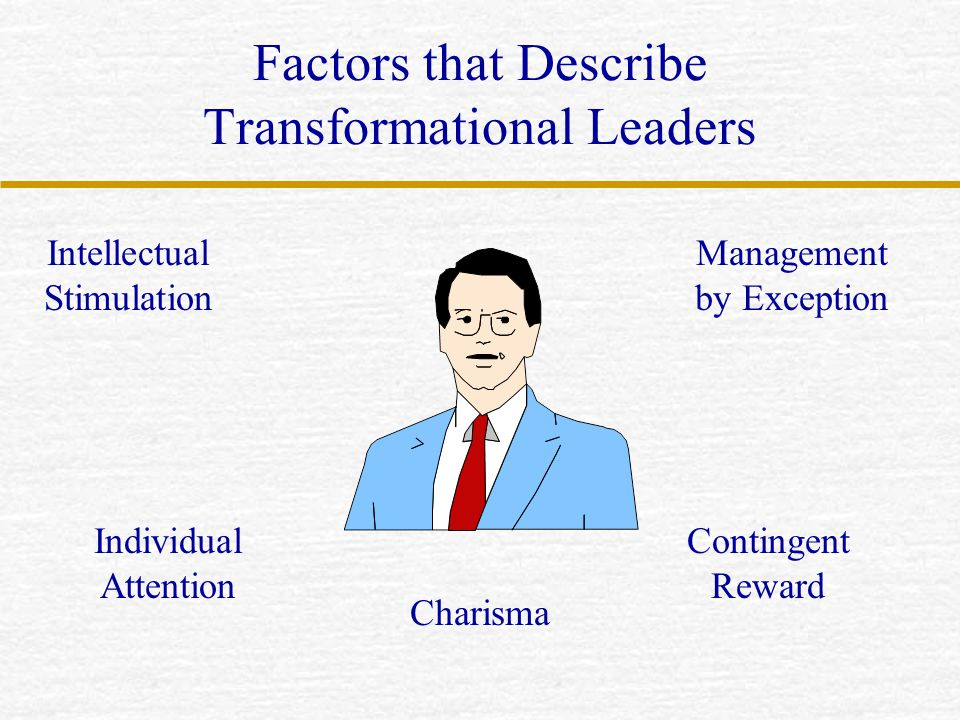 Factors that Describe Transformational Leaders
