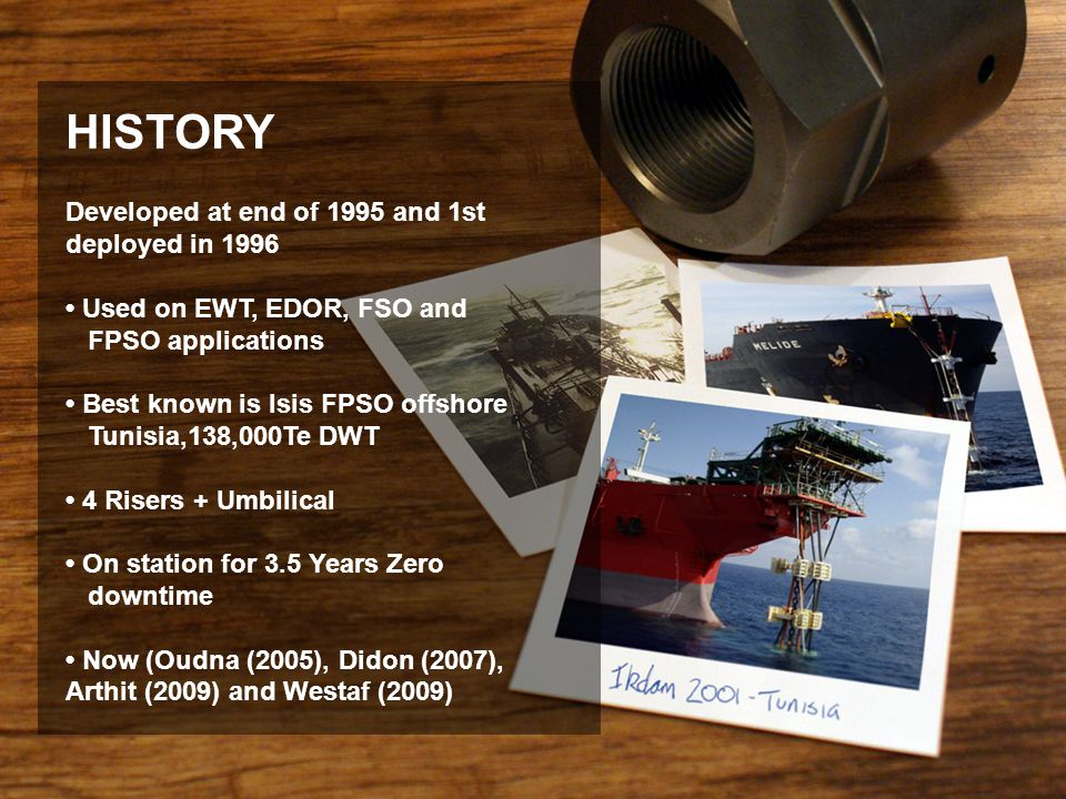 HISTORY Developed at end of 1995 and 1st deployed in 1996