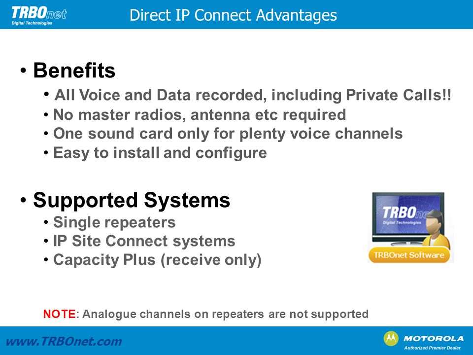 Benefits Supported Systems
