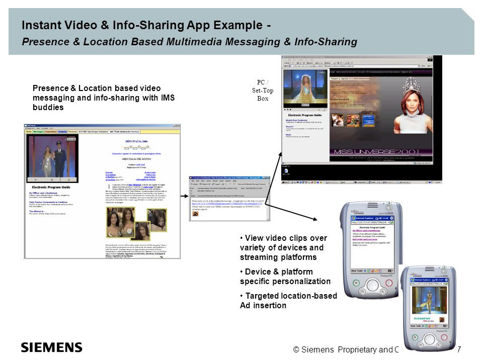 Personalized Video-on-Demand with Messaging on PDA