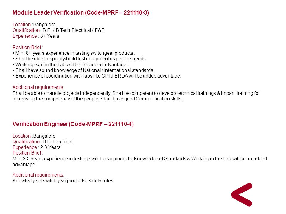 Module Leader Verification (Code-MPRF – 221110-3)