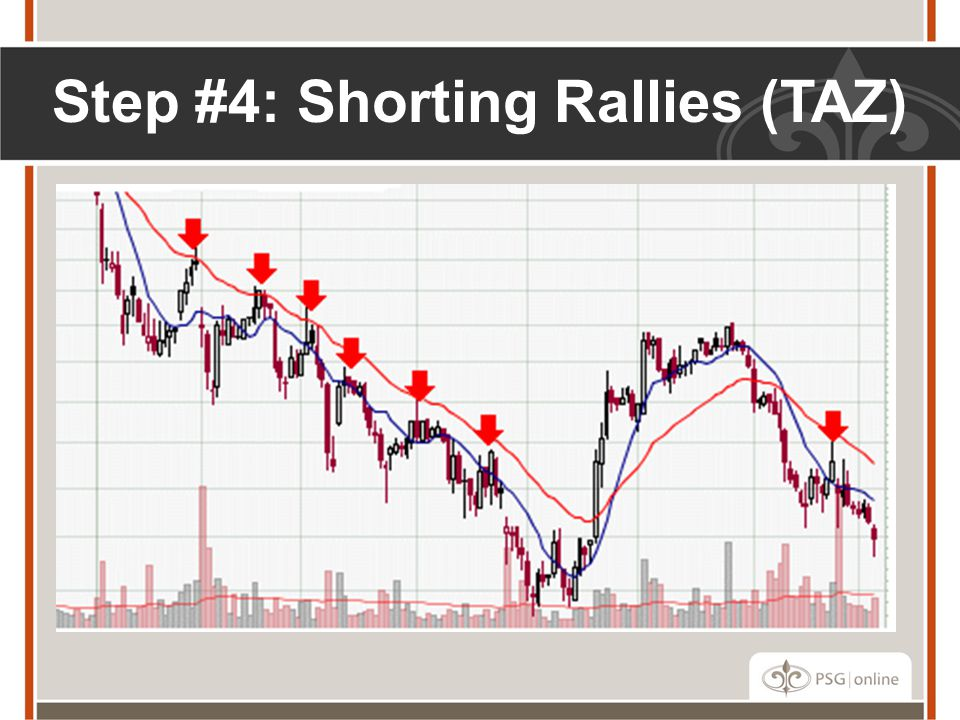 Step #4: Shorting Rallies (TAZ)