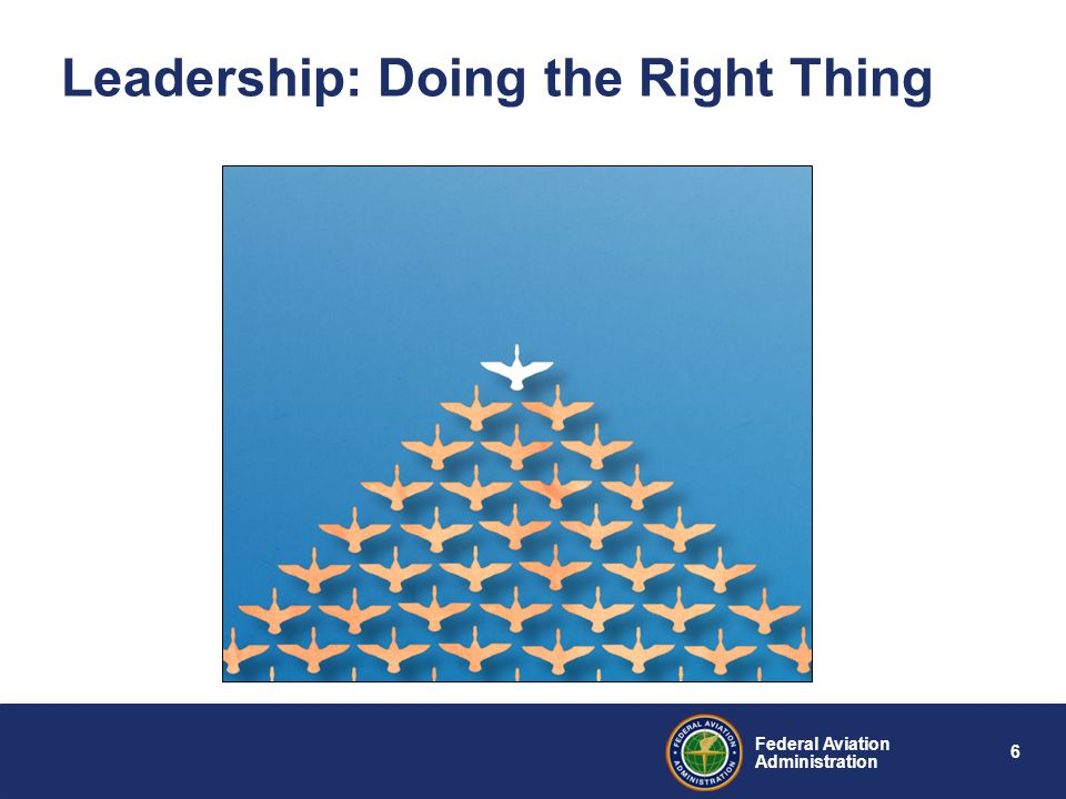 Leadership: Doing the Right Thing