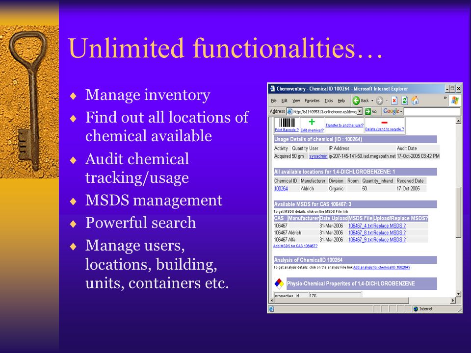 Unlimited functionalities…