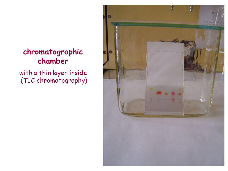 chromatographic chamber