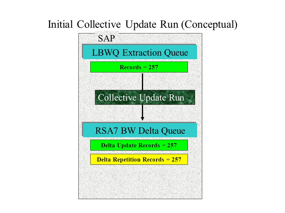 Initial Collective Update Run (Conceptual)