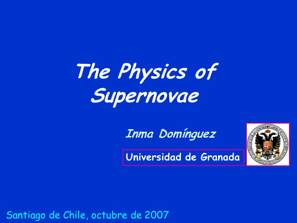 The Physics of Supernovae