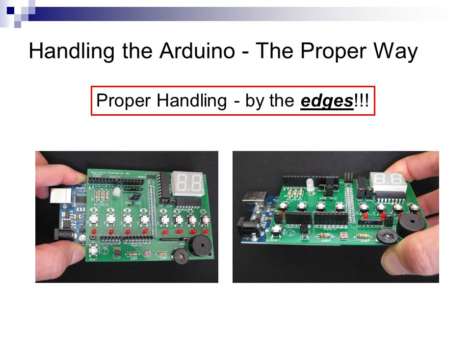Handling the Arduino - The Proper Way