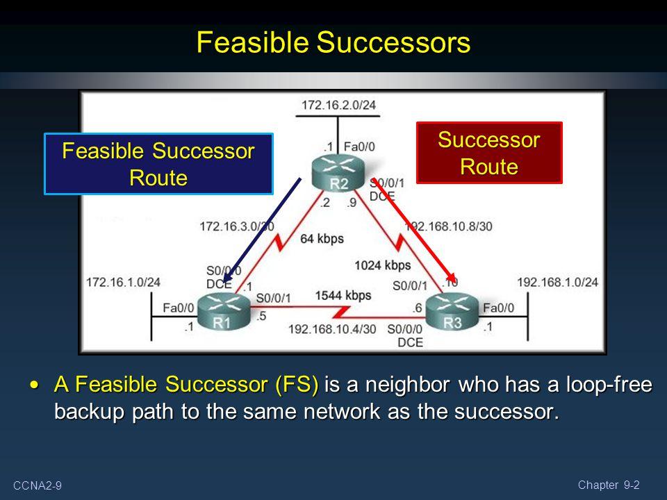 Feasible Successor Route
