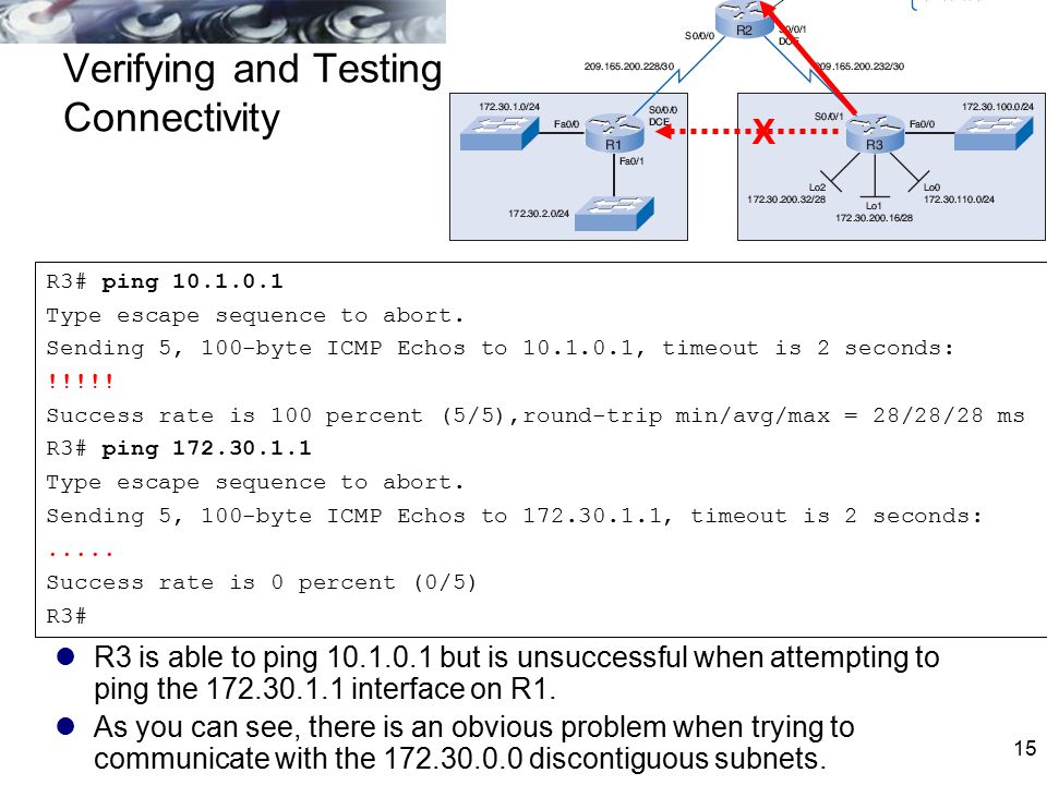 Verifying and Testing Connectivity