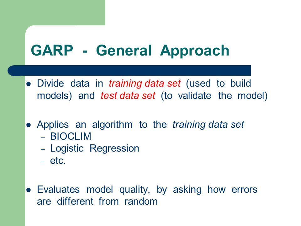 GARP - General Approach