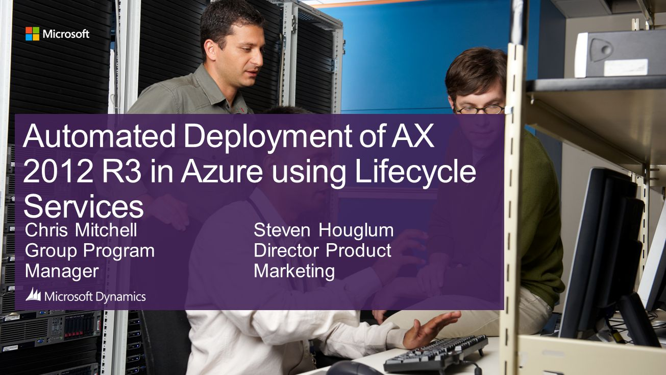 Automated Deployment of AX 2012 R3 in Azure using Lifecycle Services