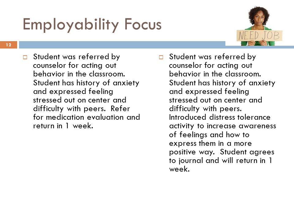 Employability Focus