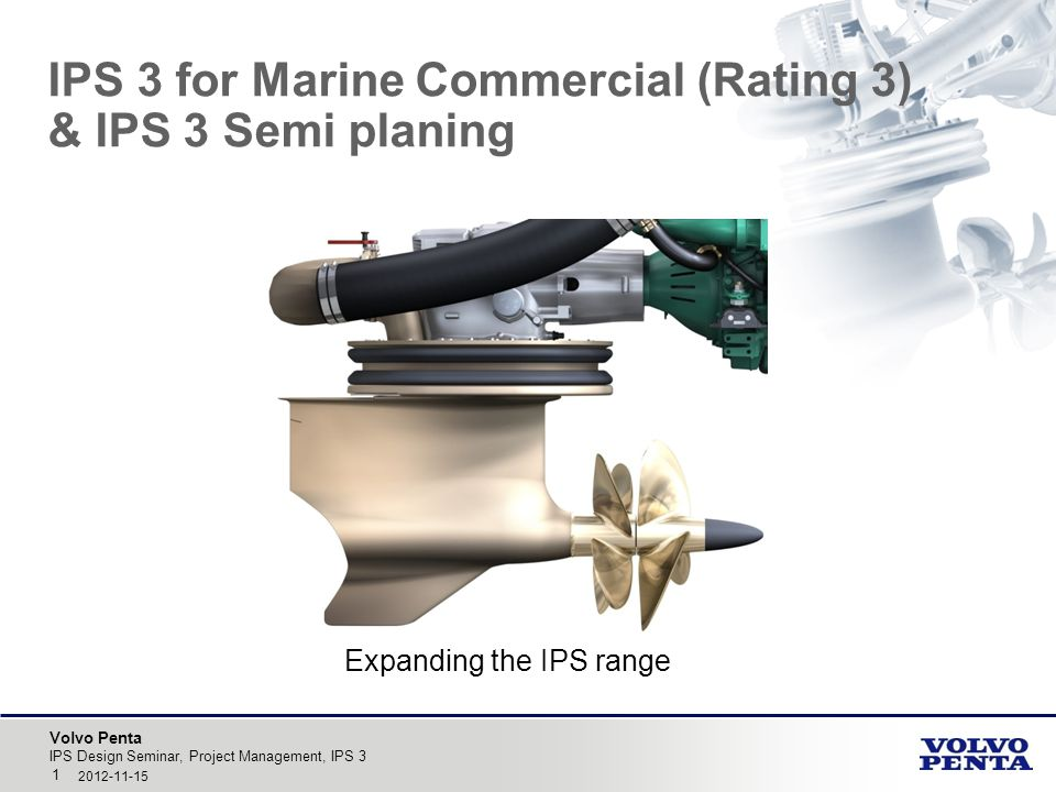 IPS 3 for Marine Commercial (Rating 3) & IPS 3 Semi planing