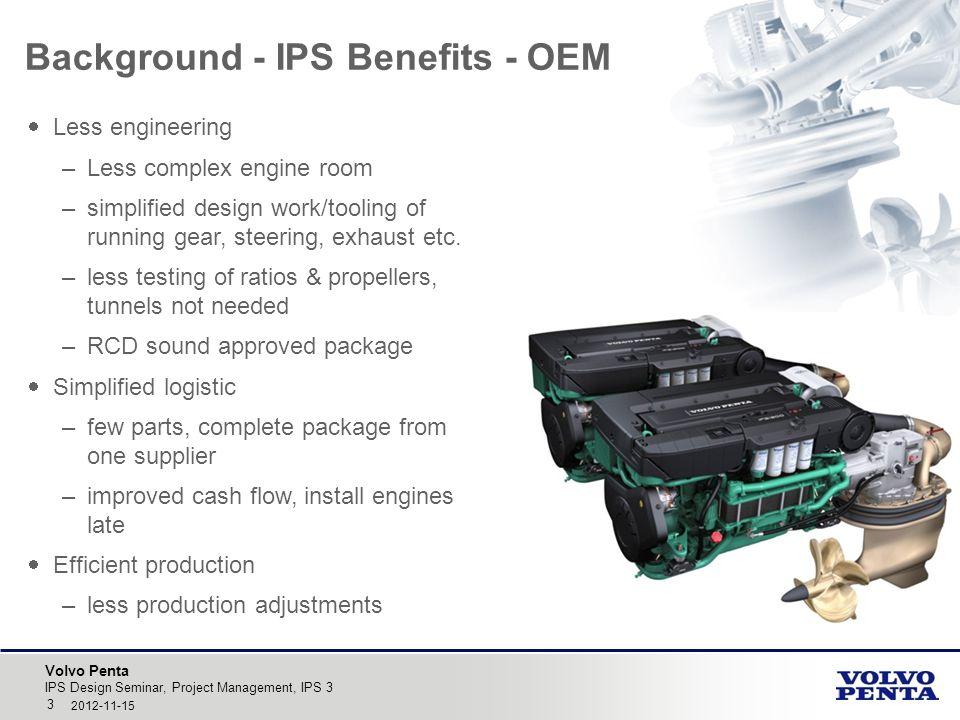 Background - IPS Benefits - OEM