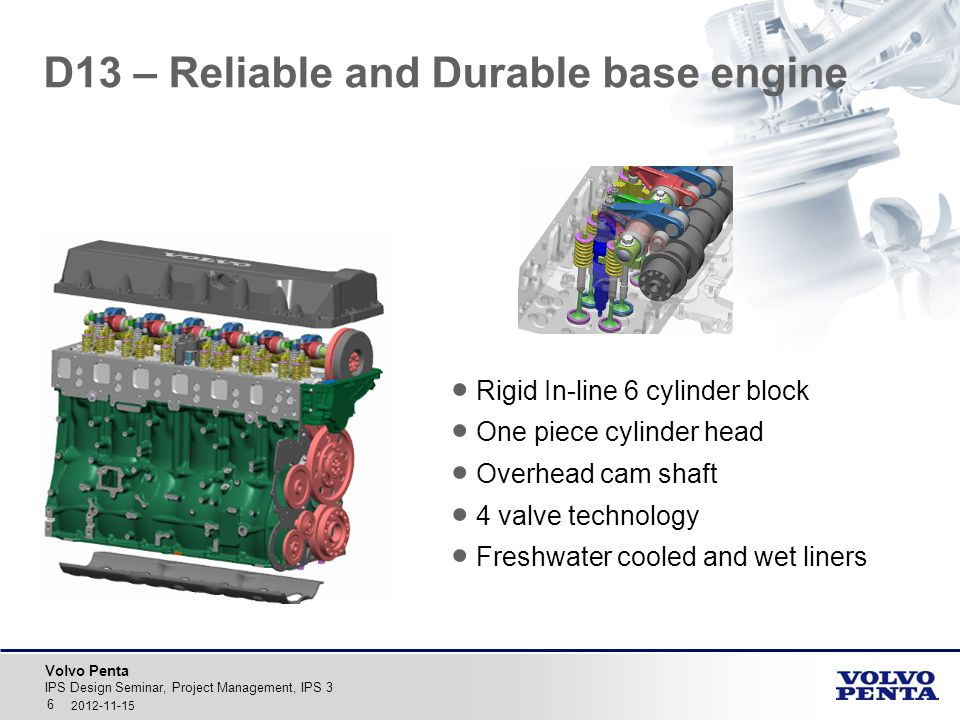 D13 – Reliable and Durable base engine