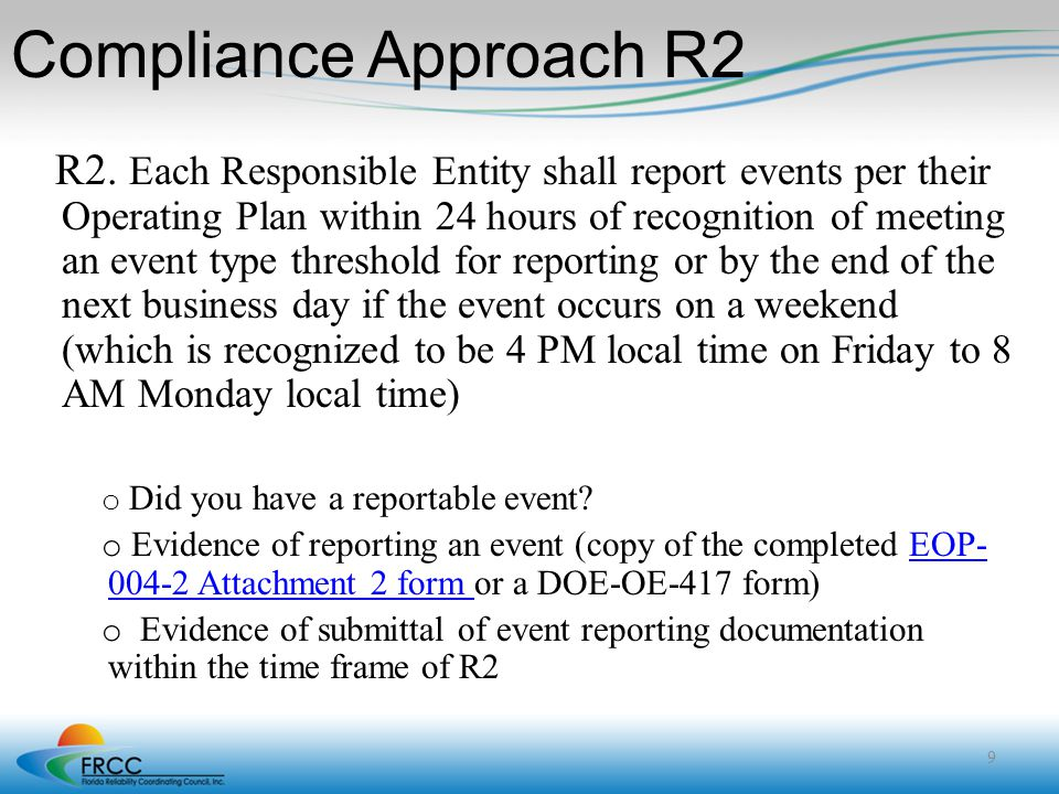 Compliance Approach R2
