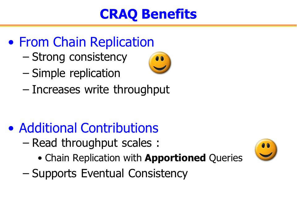 From Chain Replication