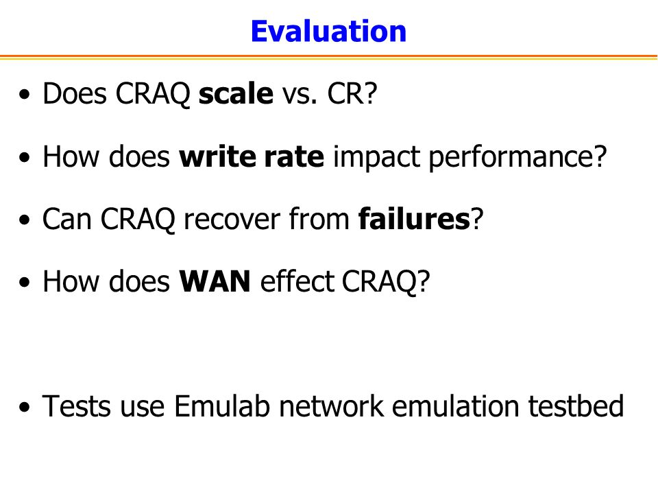 How does write rate impact performance