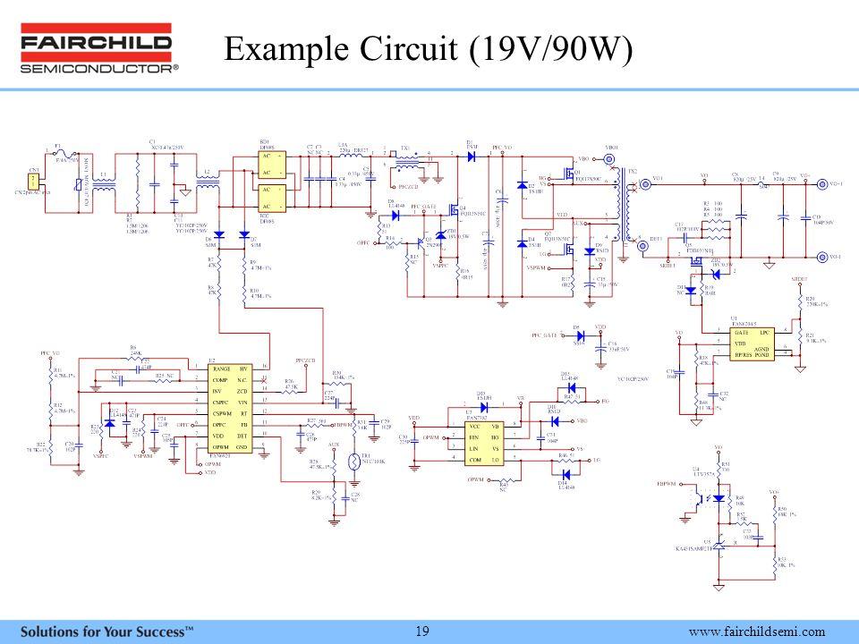 Example Circuit (19V/90W)