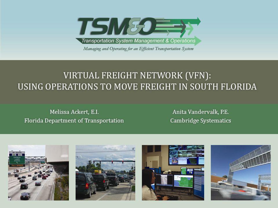 Melissa Ackert, E.I. Florida Department of Transportation