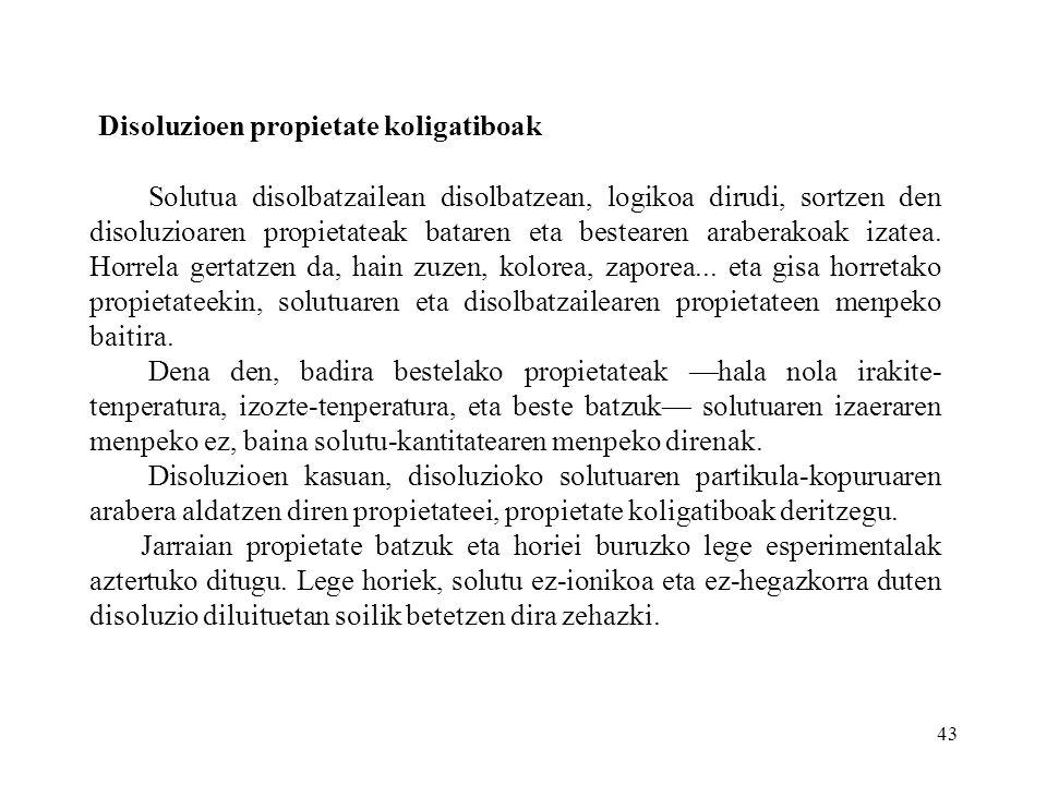Disoluzioen propietate koligatiboak