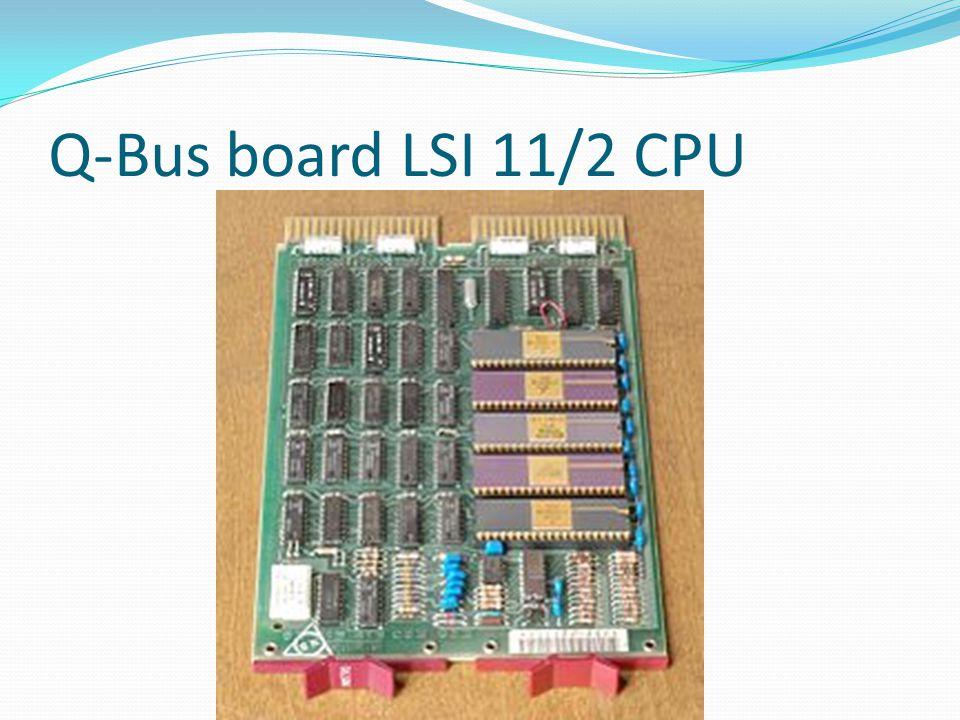Q-Bus board LSI 11/2 CPU
