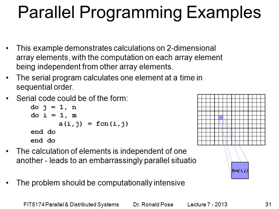Parallel Programming Examples
