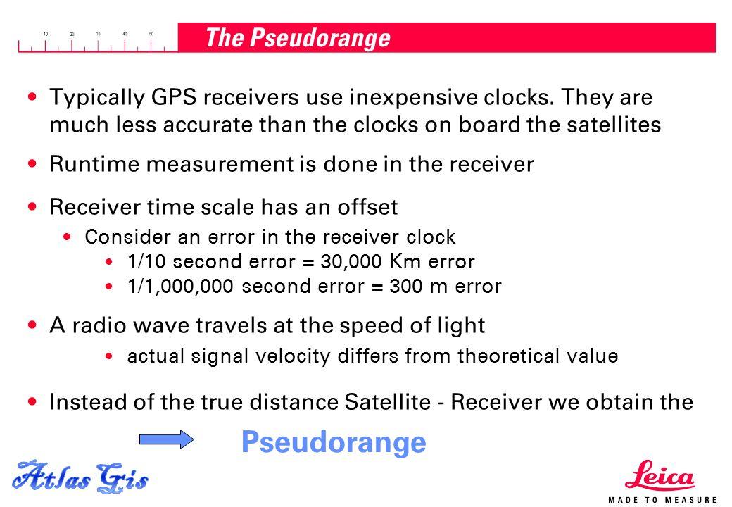 Atlas Gis Pseudorange The Pseudorange