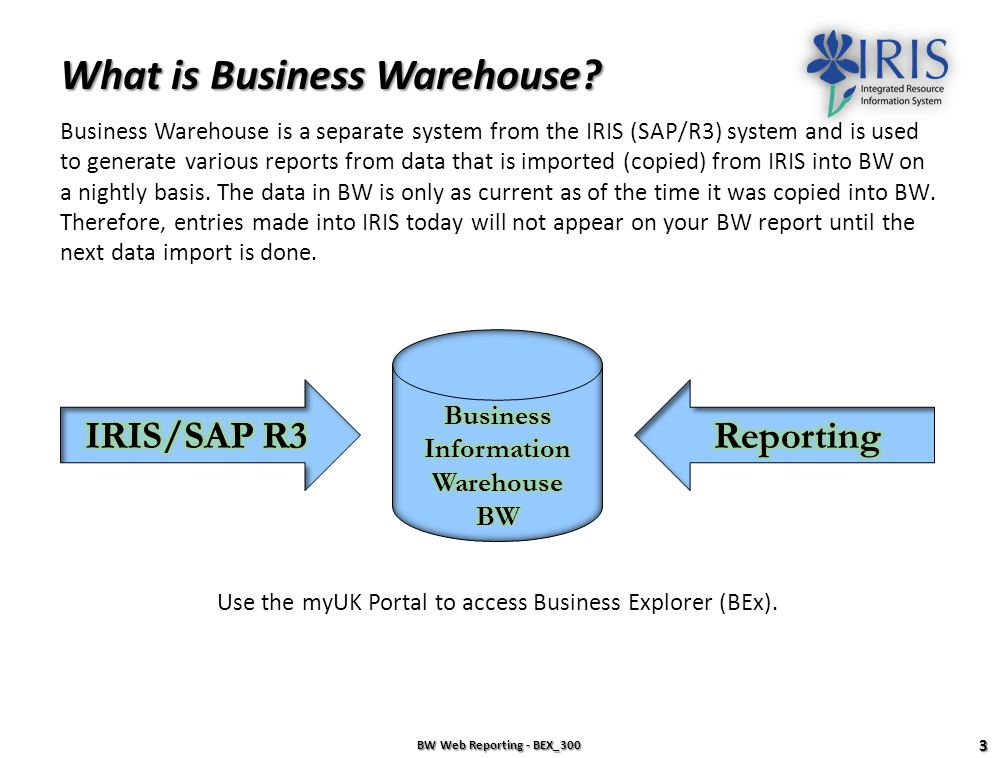 What is Business Warehouse