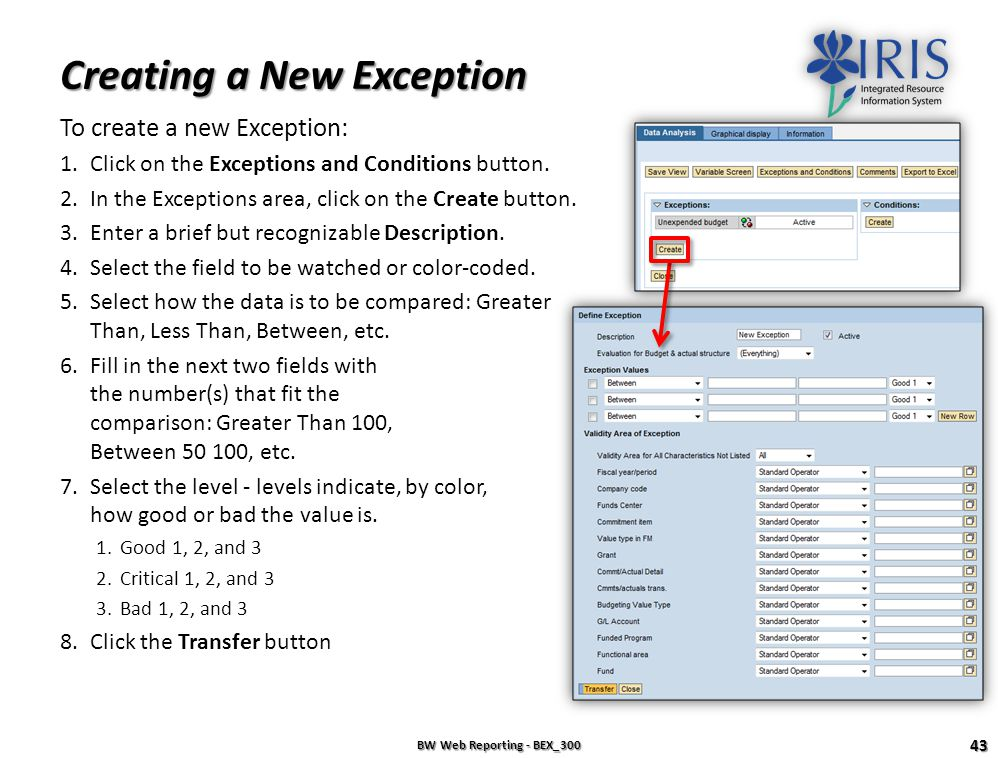 Creating a New Exception