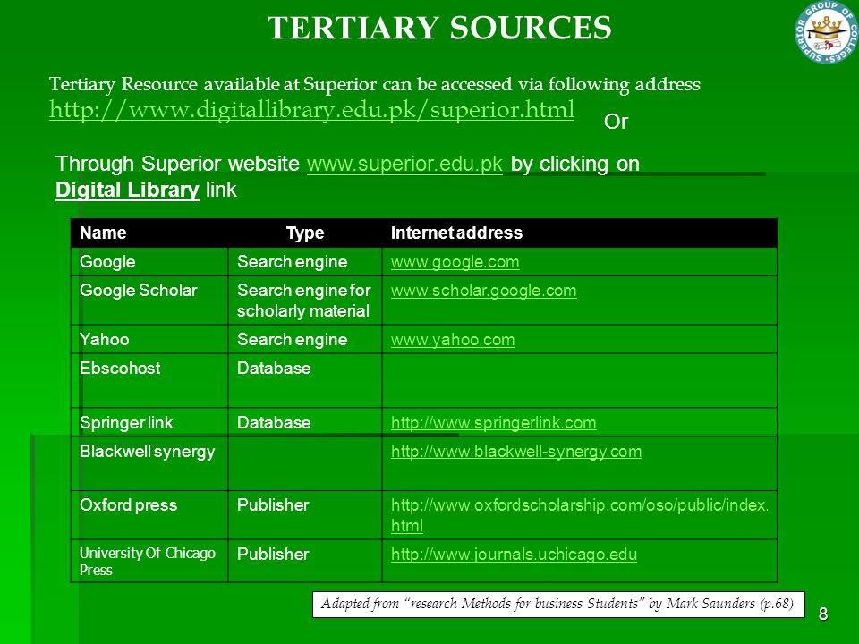 Unpublished manuscript sources Some government publications